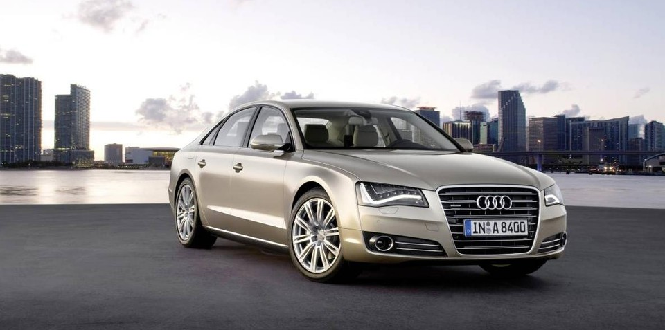 2010 Audi A8 details and Australian release