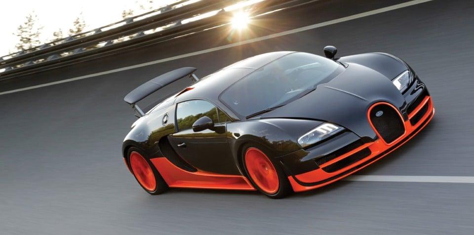 Bugatti Veyron Super Sport achieves 431km/h record