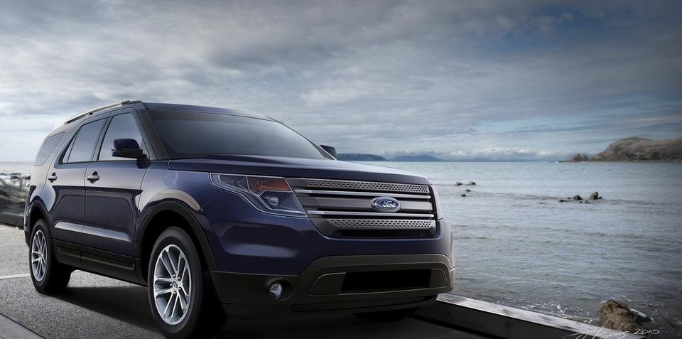 2011 Ford Explorer available in two litre four cylinder to boost fuel economy