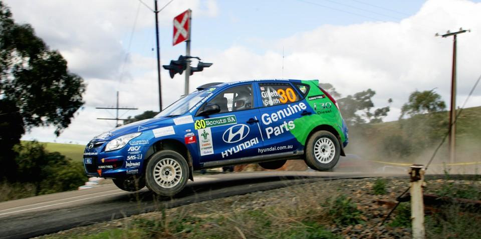Hyundai i30 CRDi scores wins in the Australian Rally Championship