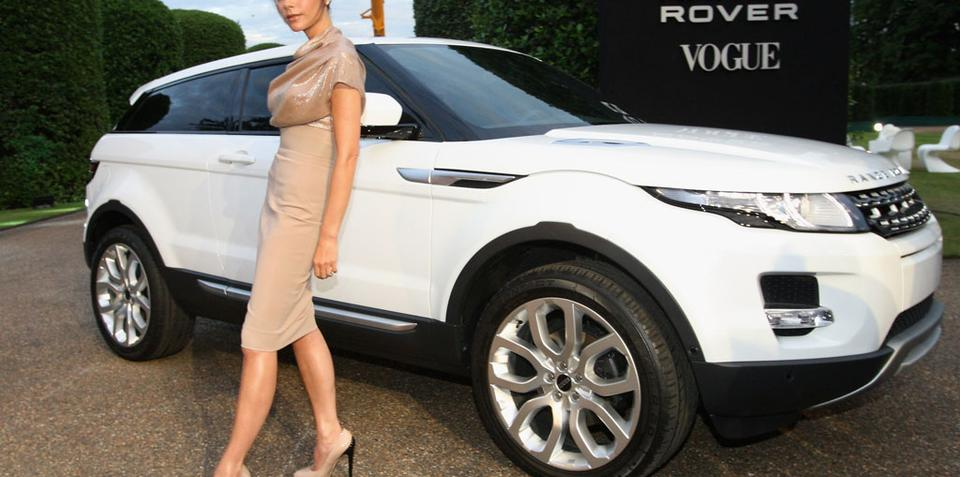 Posh hooks up with Range Rover
