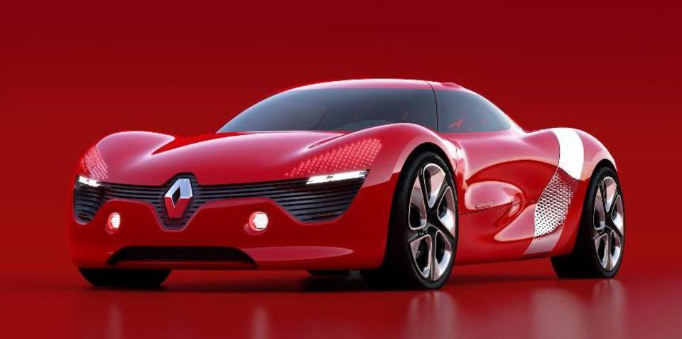 Renault DeZir previewed ahead of 2010 Paris Motor Show