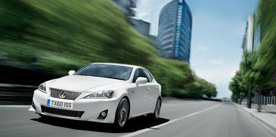 2011 Lexus IS 250, IS 350 to debut at Australian International Motor Show