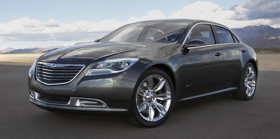 2013 Chrysler 200C with range-extender technology