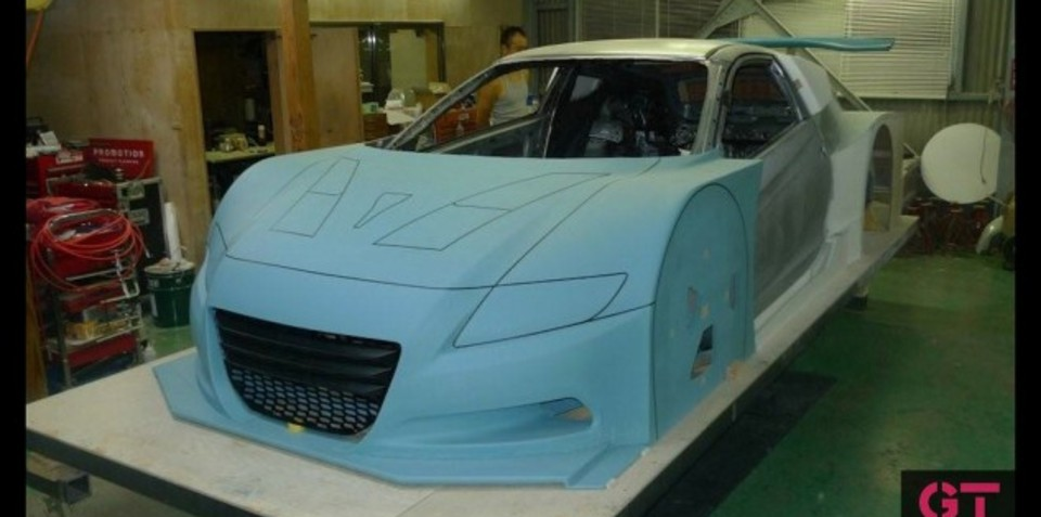 Honda CR-Z possible Japanese Super GT widebody version