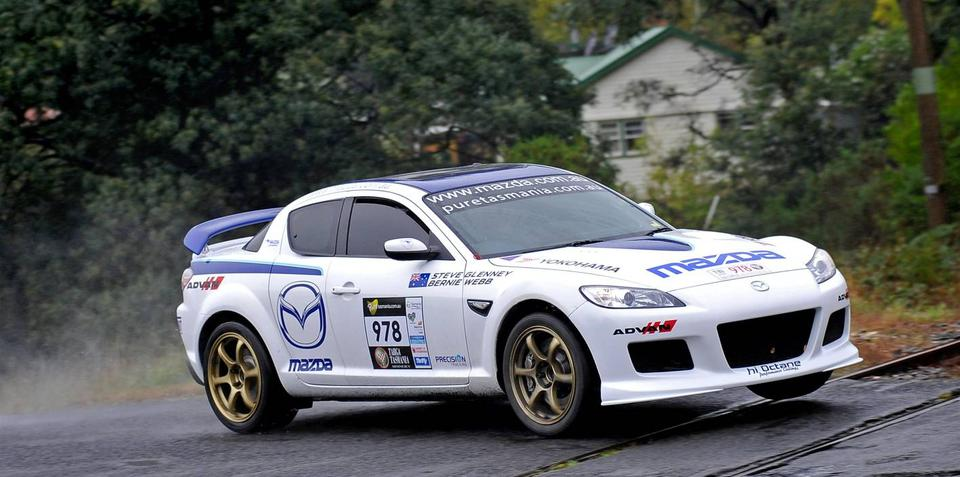 Mazda RX-8 SP repaired and ready for Targa High Country event