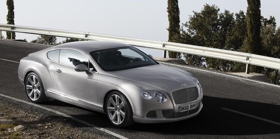 2010 Bentley Continental GT facelift