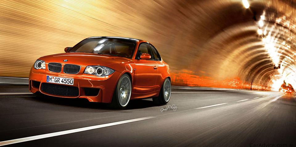 2011 BMW 1 Series M Coupe rendered speculation