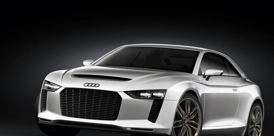 Audi Quattro Concept unveiled at Paris Motor Show
