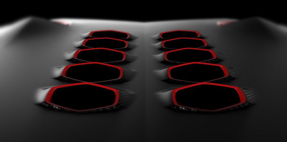 Lamborghini Paris teaser number two