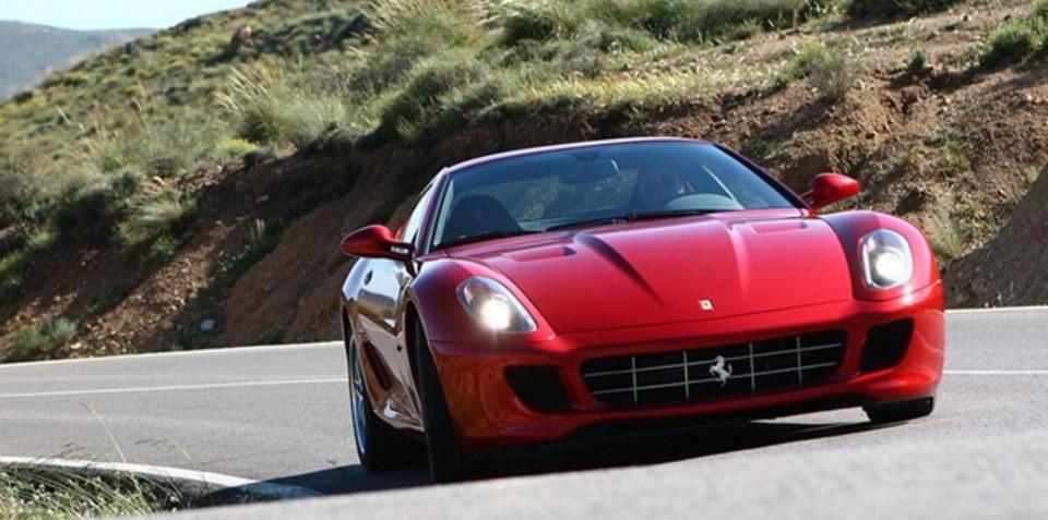 Ferrari 599 Roadster?