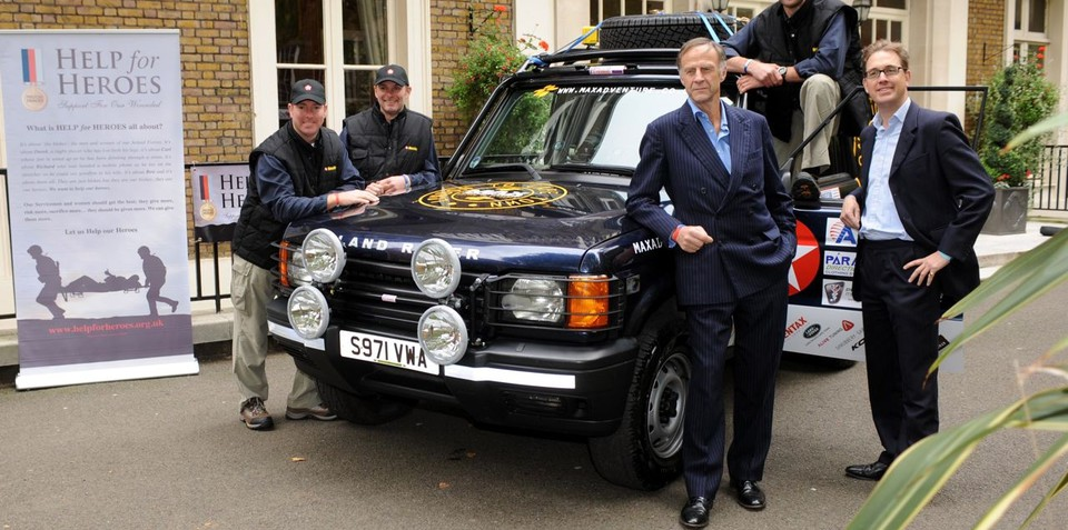 Land Rover Discovery 2 from London to Cape Town