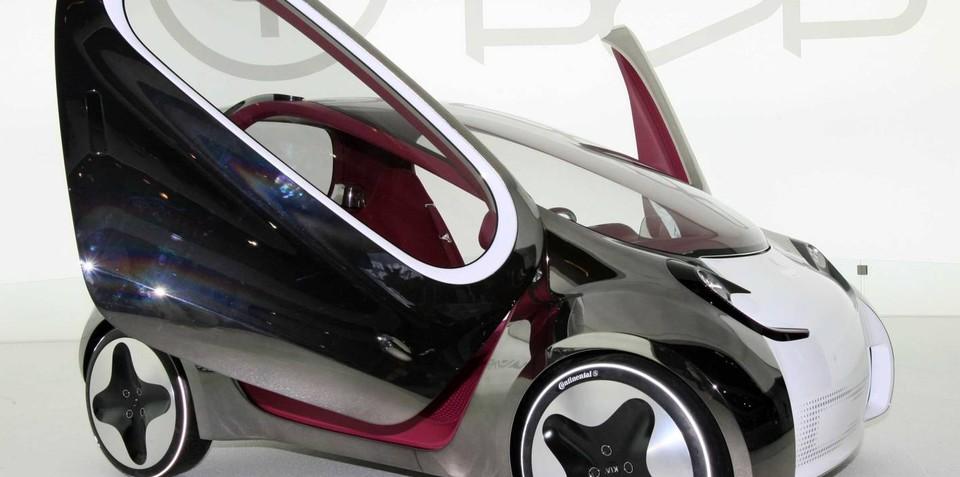 Kia POP EV concept debuts at Paris show