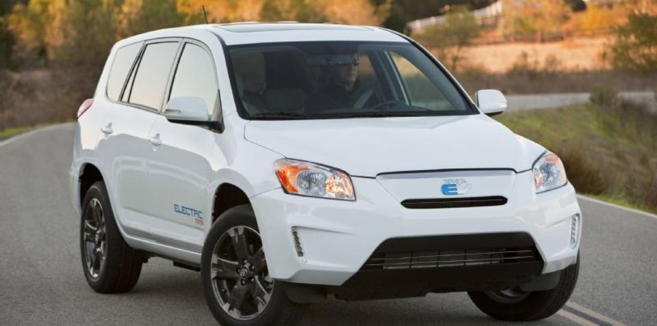 Toyota RAV4 EV debuts at LA Auto Show