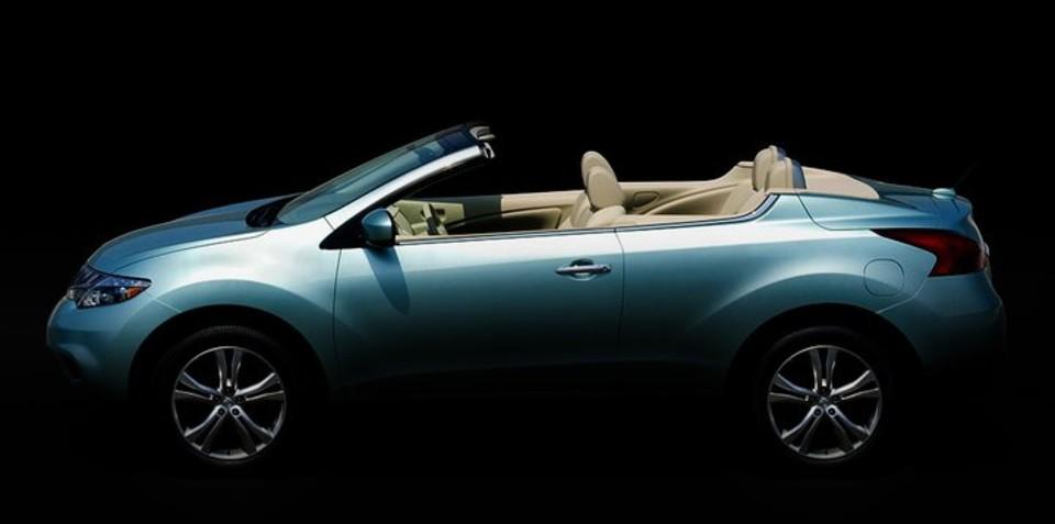 2011 Nissan Murano CrossCabriolet teased on Facebook
