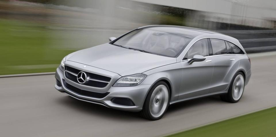 2012 Mercedes-Benz CLS Shooting Brake concept confirmed for production