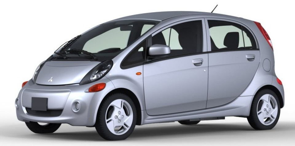 Mitsubishi i-MiEV wide-bodied electric car (update)