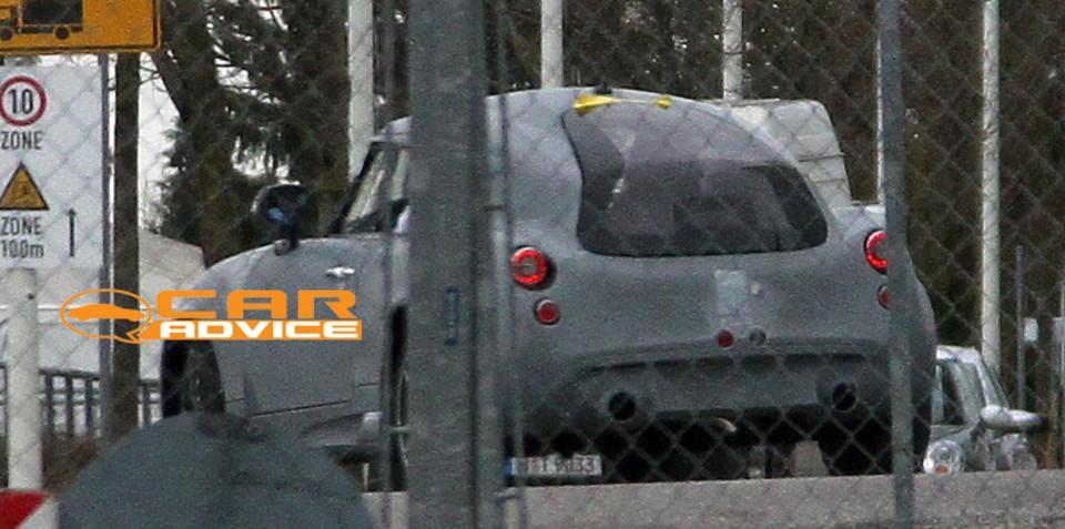 PGO Hermera BMW mystery car spy shots revealed
