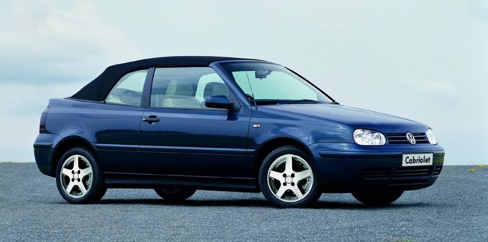 Volkswagen Golf Cabrio to be reintroduced in 2011