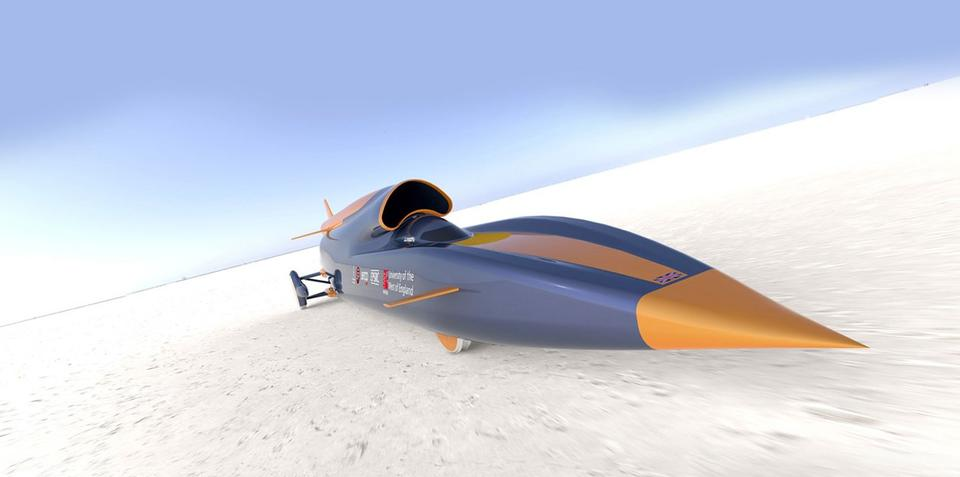 Bloodhound SSC has fastest wheels in automotive history