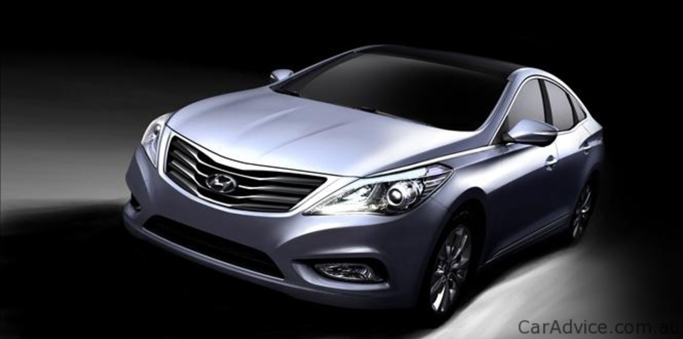 Hyundai Grandeur renderings revealed, not coming to Australia