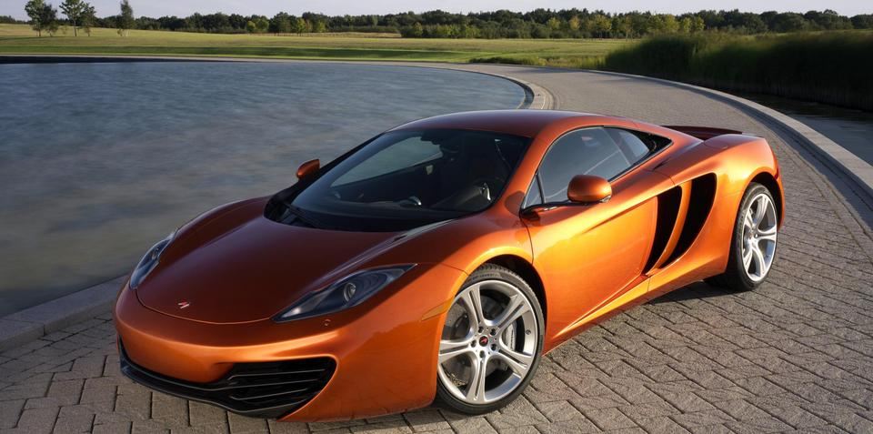 2011 McLaren MP4-12C European pricing released