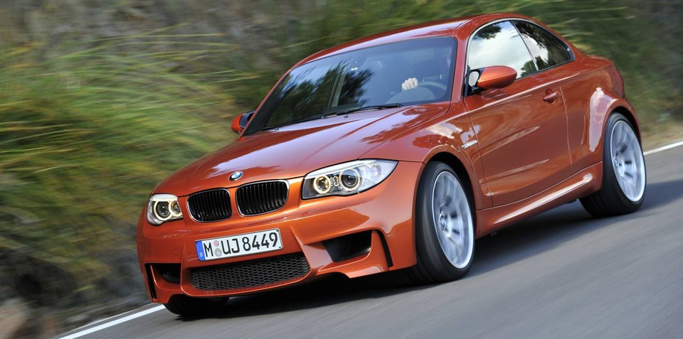 2012 BMW 1 Series M Coupe unveiled in detail