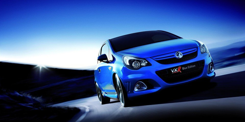 2011 Vauxhall Corsa VXR Blue Edition for the UK