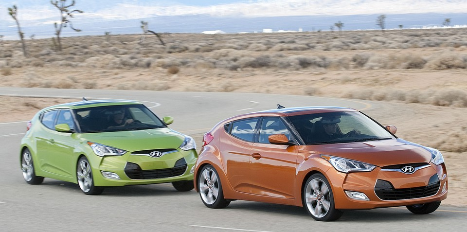 2012 Hyundai Veloster unveiled at Detroit Auto Show