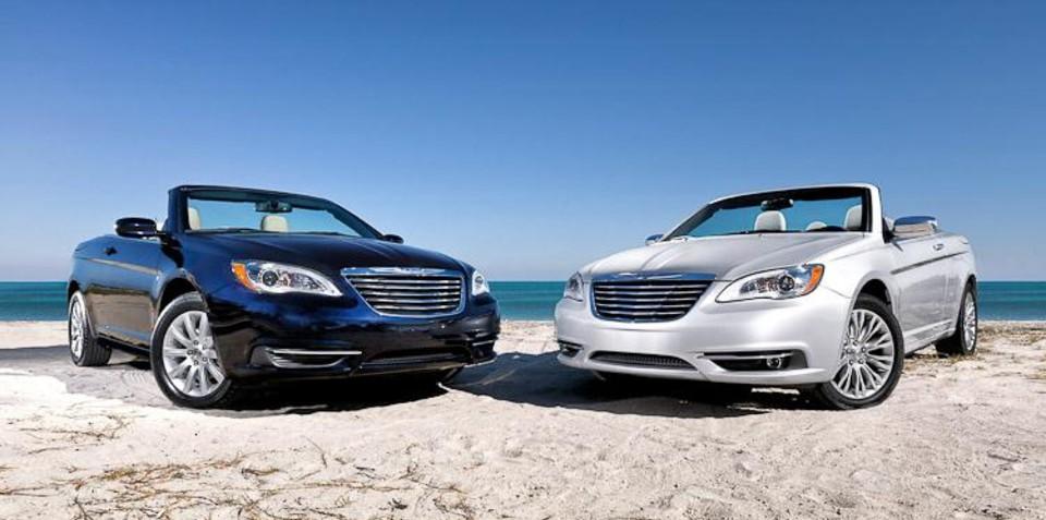 2012 Chrysler 200 convertible leaked, no plans for RHD Sebring Cabrio for Australia