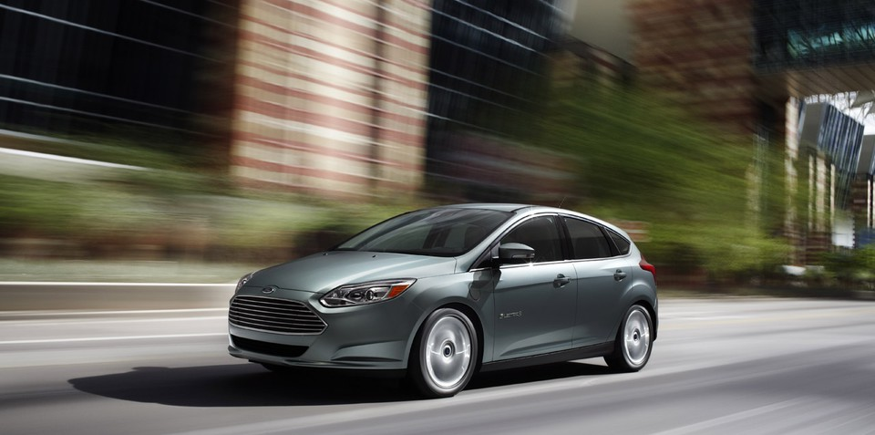 2012 Ford Focus Electric unveiled