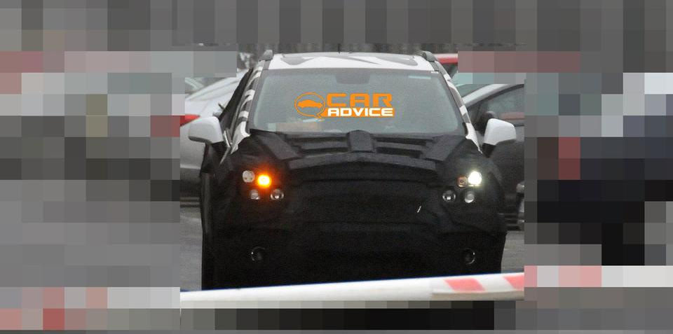 Chevrolet Sonic SUV Spy Photos