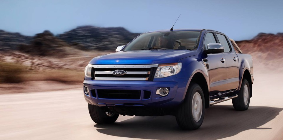 2011 Ford Ranger six-speed automatic transmission details