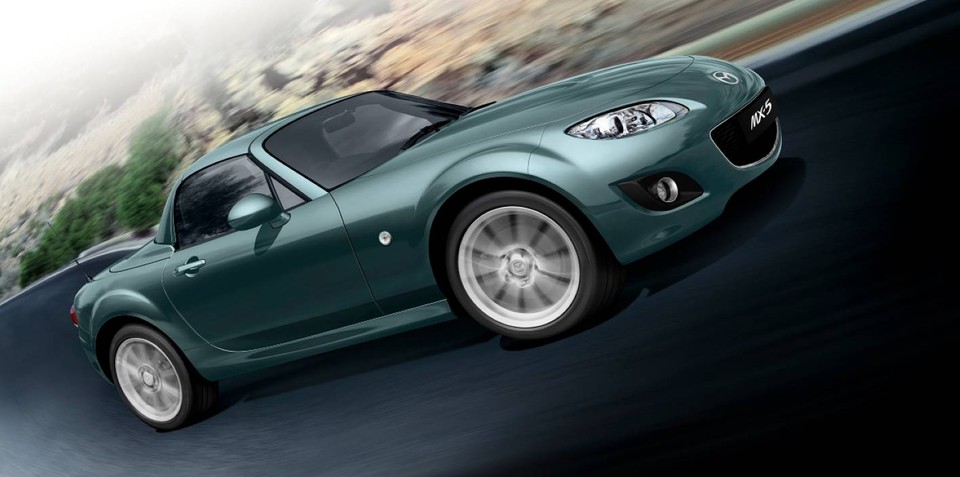 2011 Mazda MX-5 Special Edition limited to 200 in Australia