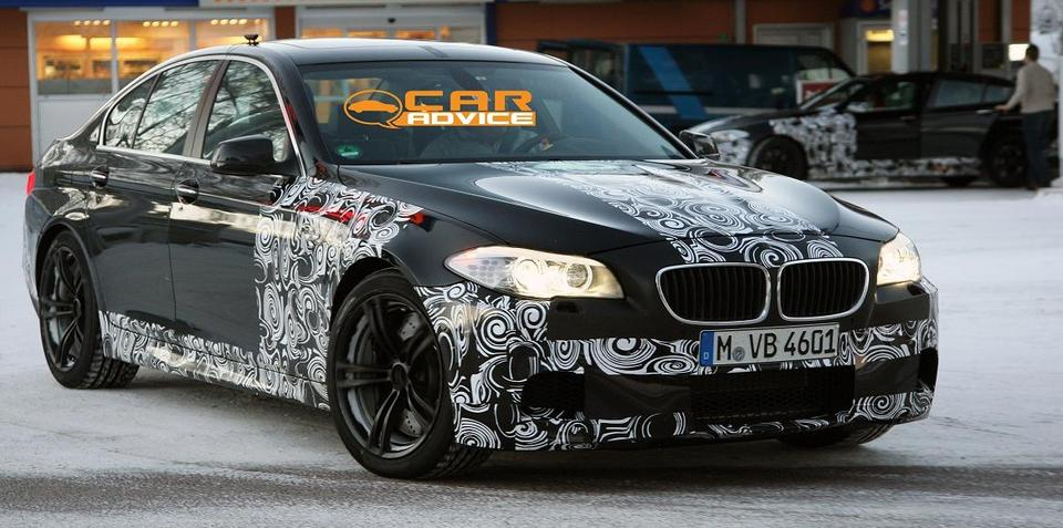 2012 BMW M5 too much torque for DCT dual clutch gearbox