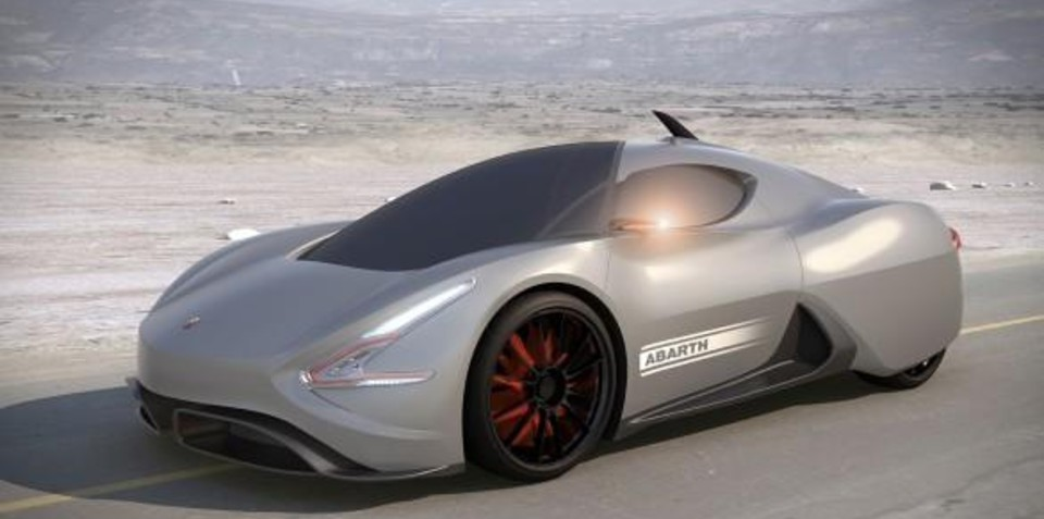 Abarth Scorp-Ion IED design study concept Geneva preview