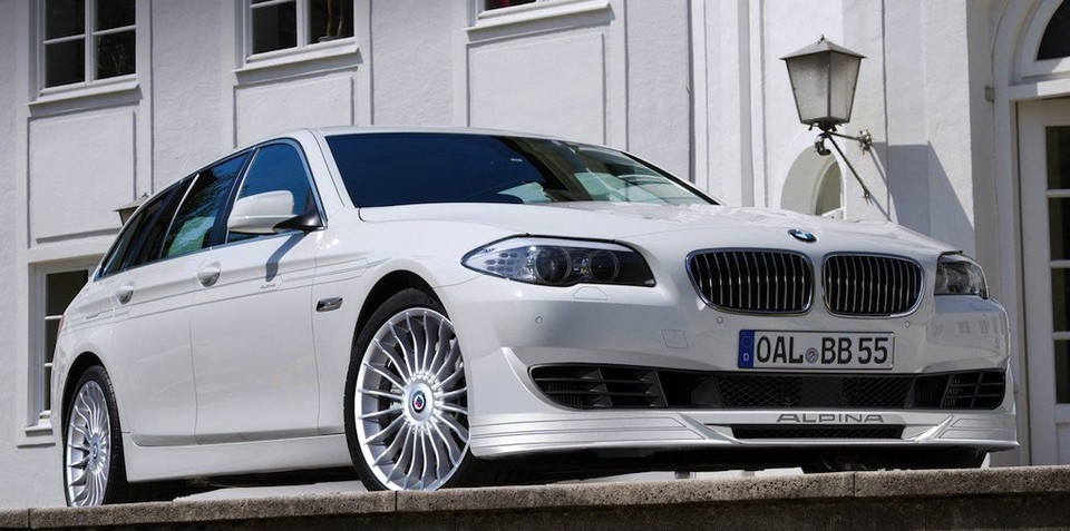 2011 BMW Alpina B5 BiTurbo Touring wagon