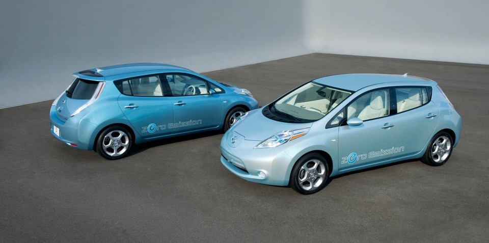 Nissan LEAF production struggling to keep up with orders