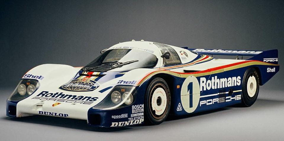 Porsche Museum cars at Phillip Island for 60th anniversary