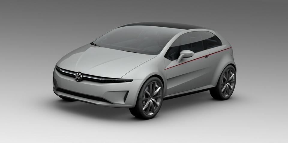 Volkswagen Italdesign Giugiaro concept photos leaked