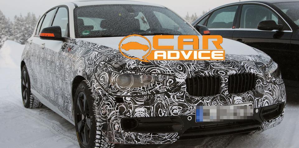 Next-Generation BMW 1 Series Spy Photos