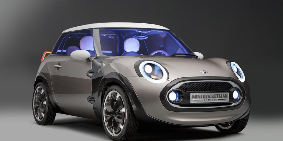 MINI Rocketman Concept Geneva Motor Show preview