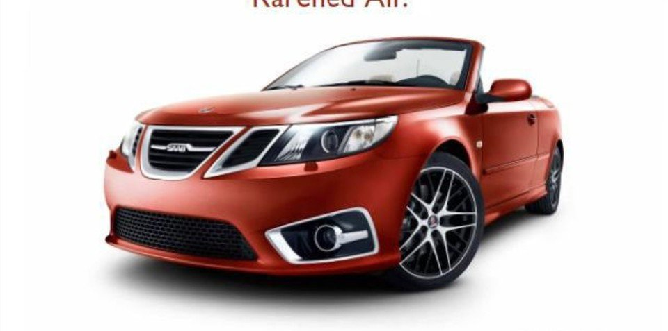 2011 Saab 9-3 Independence Edition convertible leaked