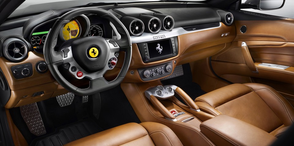 2011 Ferrari FF interior detailed in new Abu Dhabi images