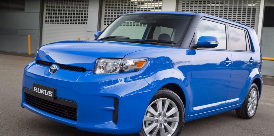 2011 Toyota Rukus Halo limited edition on sale in Australia