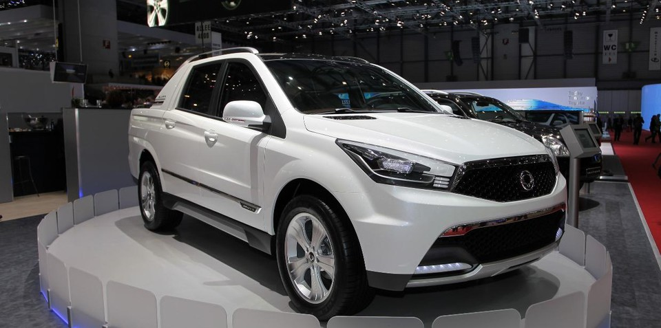 Ssangyong SUT1 concept unveiled at Geneva