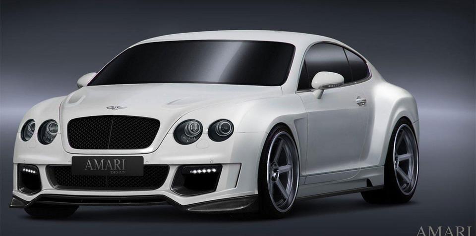 Bentley Continental GT Evolution by Amari Design