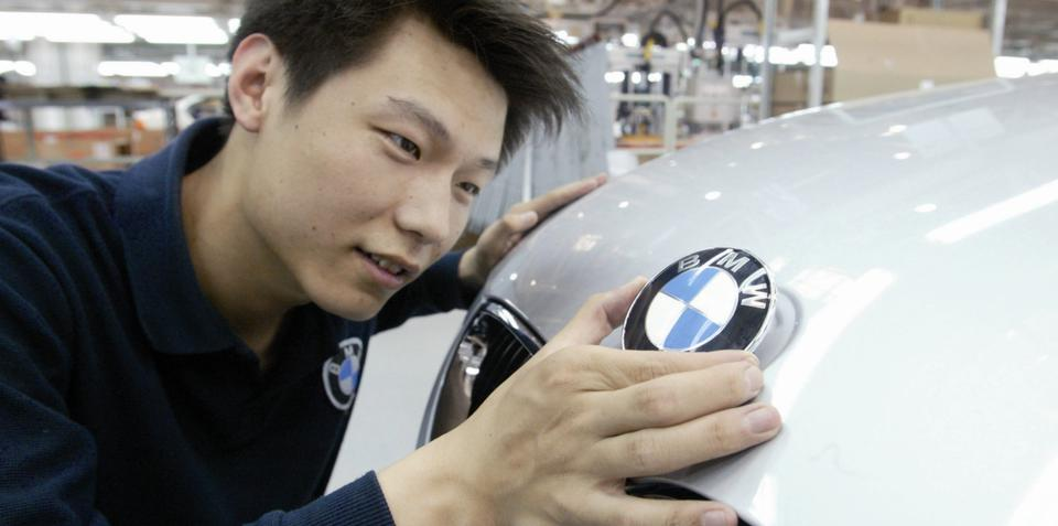 BMW the most desirable brand in China: poll