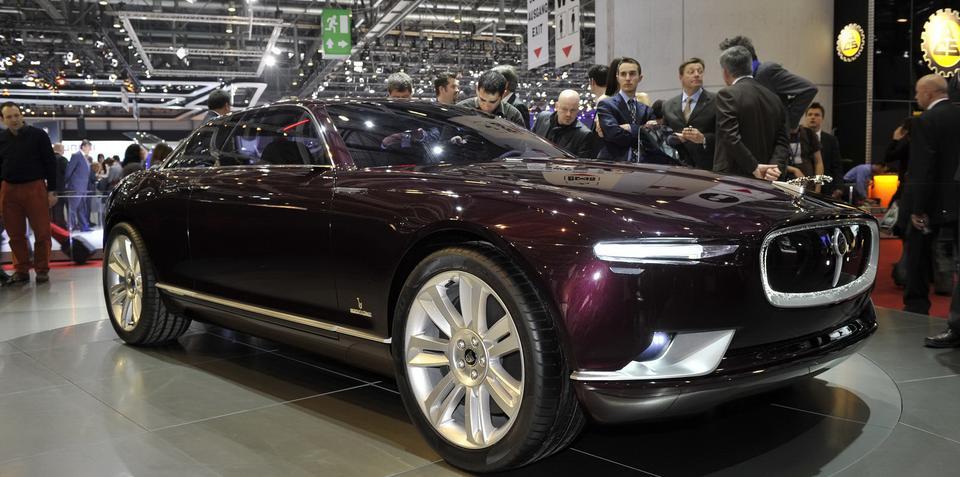 Bertone B99 Jaguar Concept unveiled at Geneva