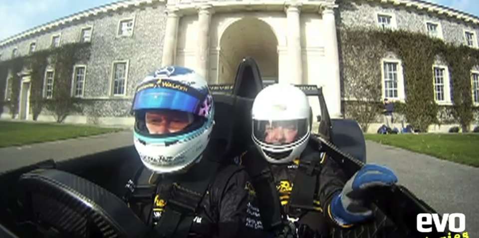 Video: Caparo T1 driven by Mika Hakkinen